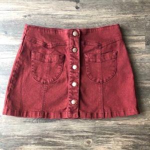 EUC Forever 21 mini skirt!